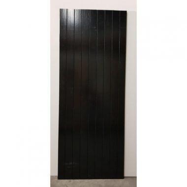 Buitendeur hardhout dicht (tuindeur)
