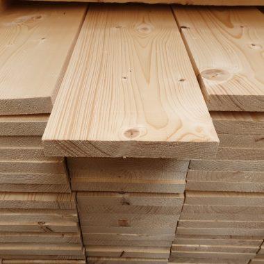Vurenhout geschaafd 26x192 mm (steigerplank)