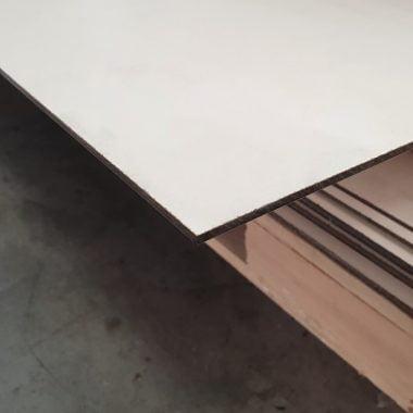 Volkernplaat HPL exterieur 3 mm 130x305 cm (wit)