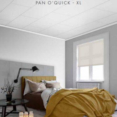 Wandpaneel Pan O'Quick Beton Licht 51x260 cm
