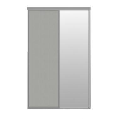 Raffito schuifdeuren set 2 stuks (1x spiegeldeur en 1x deur kashmir mat)