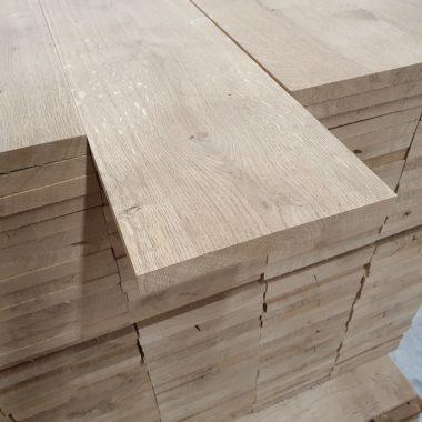 Massief eiken plank geschaafd 24x190 mm