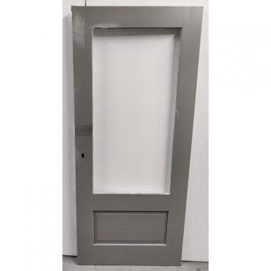Hardhouten achterdeur/buitendeur 88x201,5 cm (AD20-8)