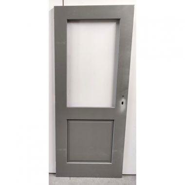 Hardhouten achterdeur/buitendeur 83x201,5 cm (AD201)