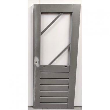 Hardhouten achterdeur/buitendeur 83x201,5 cm (AD202)