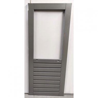 Hardhouten achterdeur/buitendeur 83x201,5 cm (AD203)