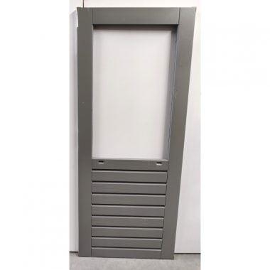 Hardhouten achterdeur/buitendeur 83x201,5 cm (AD204)