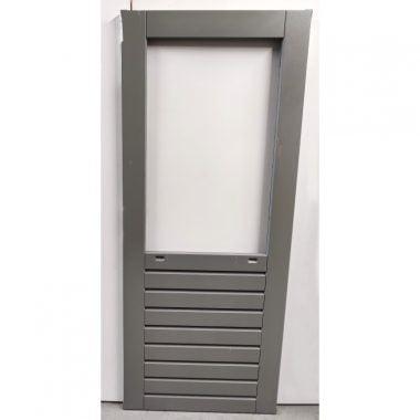 Hardhouten achterdeur/buitendeur 83x201,5 cm (AD206)