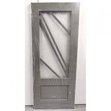 Hardhouten achterdeur/buitendeur 83x201,5 cm (AD207)
