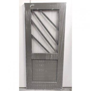 Hardhouten achterdeur/buitendeur 88x201,5 cm (AD209)