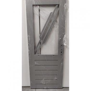 Hardhouten achterdeur/buitendeur 83x211,5 cm (AD126)