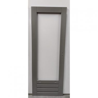 Hardhouten achterdeur 73x201,5 cm (AD301)