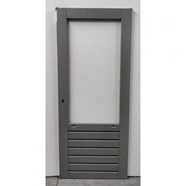 Hardhouten achterdeur/buitendeur 73x201,5 cm (AD303)
