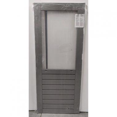 Hardhouten achterdeur/buitendeur 83x201,5 cm (AD304)