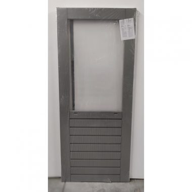 Hardhouten achterdeur/buitendeur 83x201,5 cm (AD305)
