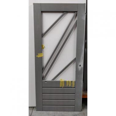 Hardhouten achterdeur/buitendeur 93x211,5 cm (AD309)