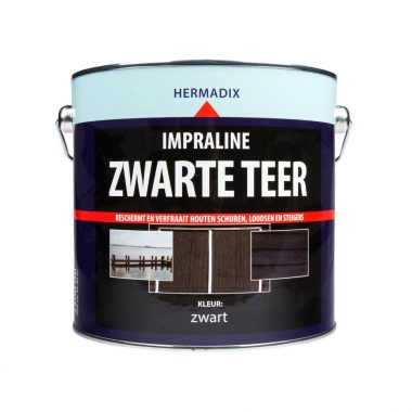 Hermadix Impraline Zwarte Teer 2,5L