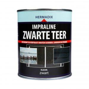 Hermadix Impraline Zwarte Teer 750ml of 2,5L