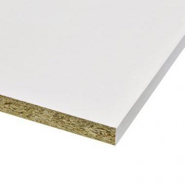 Meubelpaneel wit 18 mm