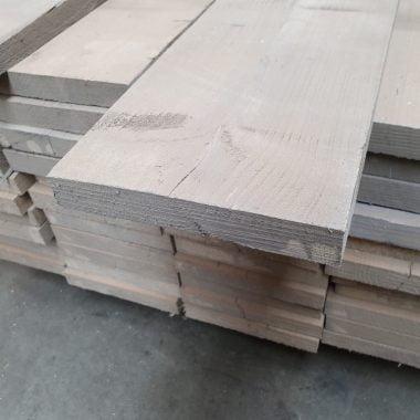 Steigerplank geborsteld oud grijs 30x200 mm