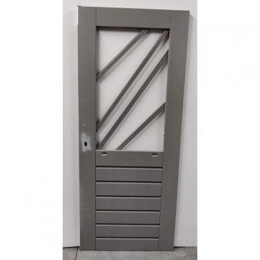 Hardhouten achterdeur/buitendeur 83x201,5 cm (AD302)