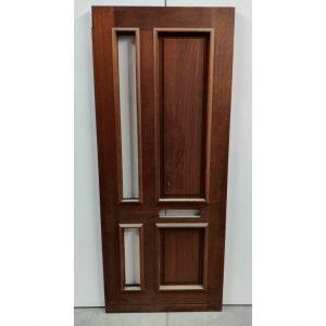 Hardhouten voordeur / buitendeur (deur VD306)