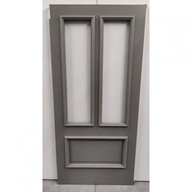Hardhouten voordeur/buitendeur 93x201,5 cm (deur VD302)