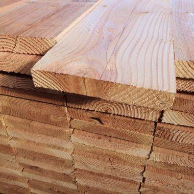 Douglas plank fijnbezaagd 30x200 mm 250 cm