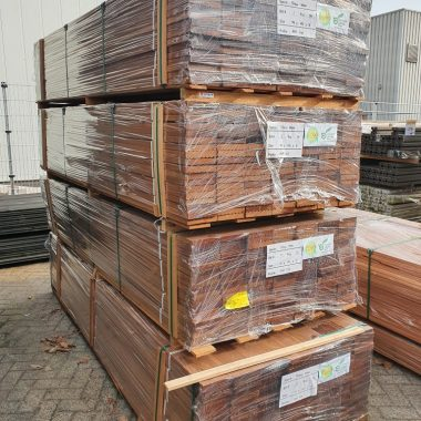 Vlonderplank Hardhout Bankirai 25x142 mm
