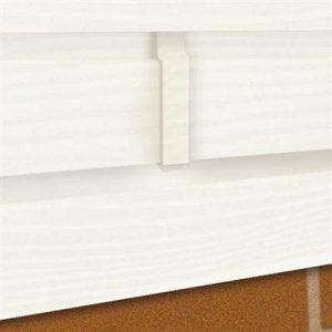 Connectorprofiel Gebroken wit 17,3x3,5 cm t.b.v enkel rabat (4 stuks)