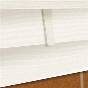Dilatatieprofiel Wit 9010 20,1x3,5 cm t.b.v potdeksel (4 stuks)