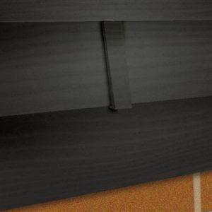 Dilatatieprofiel Antraciet 20,1x3,5 cm t.b.v potdeksel (4 stuks)