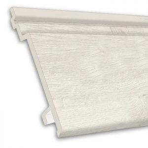 Volschuim PVC gevelbekleding gebroken wit 7 mm Enkel Rabat