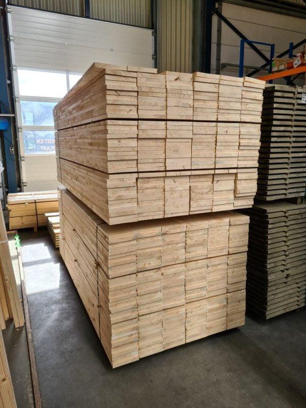 Vurenhout geschaafd 27x195 mm 250 cm (steigerplank)