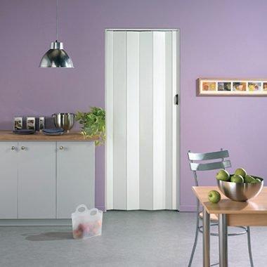 Grosfillex vouwdeur Una PVC wit 205x84 cm