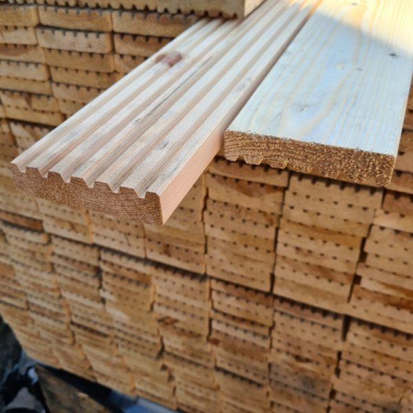 Vlonderplank grenen onbehandeld 22x95 mm