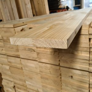 Vuren plank geschaafd/gedroogd 27x195 mm 250 cm (steigerplank)