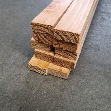 Douglas regels fijnbezaagd 18x40 mm voordeelbundel