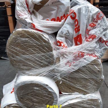 Steenwol isolatiemateriaal PARTIJEN