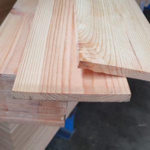 Grenen plank geschaafd 12x120 mm VOORDEELBUNDEL