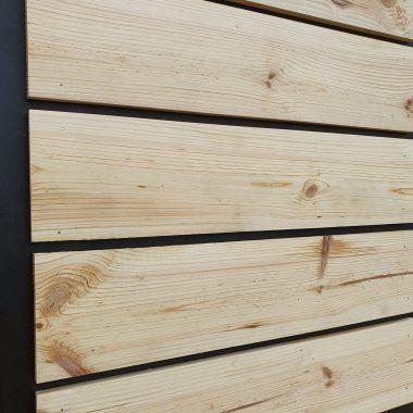 Grenen plank geschaafd 12x120 mm