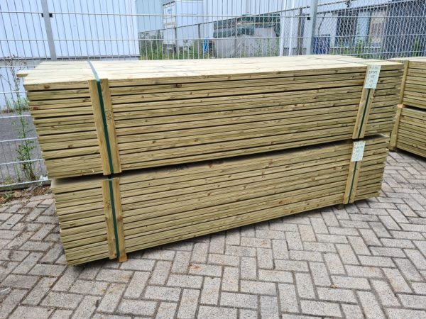 Tuinplank geschaafd geïmpregneerd grenen 18x145 mm