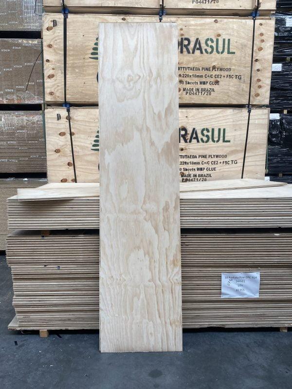 Underlayment Radiata Pine18 mm 61×244 cm