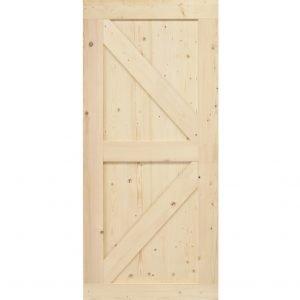 Loftdeur onbehandeld steigerhout Wales