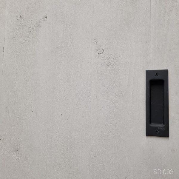 Loftdeur Steigerhout Vintage White 80x210 cm SD003