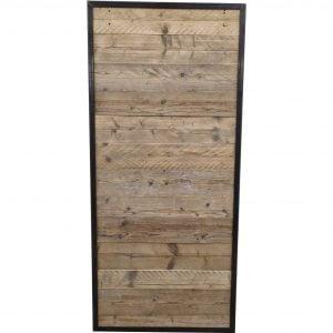 Loftdeur gebruikt steigerhout 95x210 cm SD010