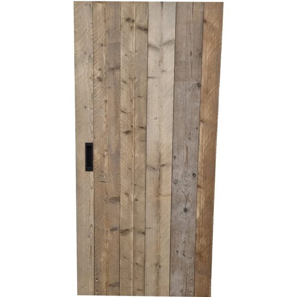 Loftdeur gebruikt steigerhout 100x210 cm SD012