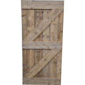 Loftdeur gebruikt steigerhout 100x210 cm SD013