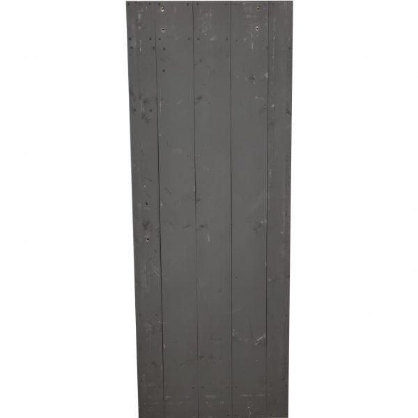Loftdeur steigerhout grijs 80x213 cm SD020