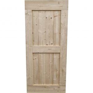 Loftdeur onbehandeld steigerhout 95x215 cm SD025